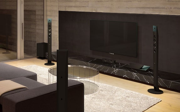 Experiencia de sonido surround del Home Theatre de Sony