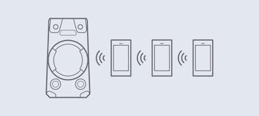 Imagen de Sistema de audio de alta potencia V13 con tecnología BLUETOOTH®