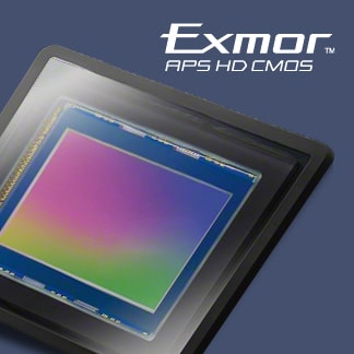 Sensor CMOS Exmor™ APS HD de 20,1 MP